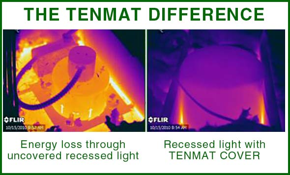 Thermal comparison image.